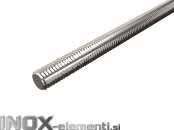 INOX Palica navojna M6x1000mm DIN975 / A2