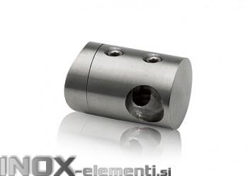 INOX Prečni nosilec 16 / satiniran za cev 42,4