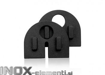 EPDM 10 polkrožno tesnilo za držalo stekla / kratek 10S