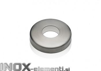 """INOX Pokrov plošče """"rozeta"""" 42.4x105x18 / polirano"""