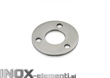 INOX Osnovna plošča 33.7 / satinarana