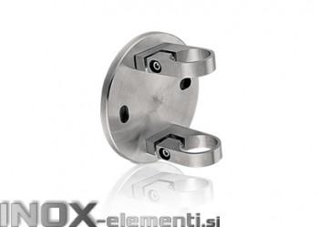 INOX Nosilec stebra 42,4 / satiniran 0116S