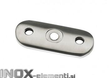 INOX Pritrdilna ploščica ravna 42.4