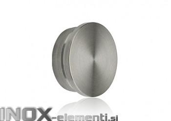 INOX Zaključni čep 42.3 raven / satiniran (Default)