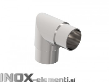 INOX Koleno kotno 42.4mm / satinirano AISI304
