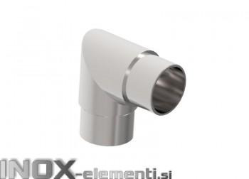 INOX Koleno kotno 42.4mm / polirano AISI304