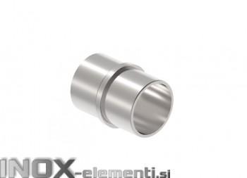 INOX Vmesni člen cevi 42,4 / poliran