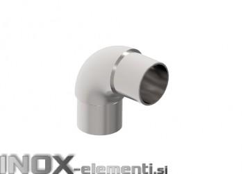 INOX Koleno polkrožno 42.4 / polirano AISI304