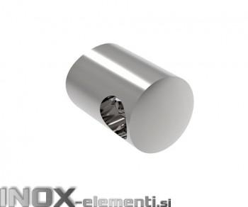 INOX Prečni nosilec 14 / poliran za cev 42,4