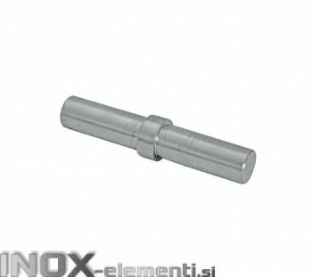 INOX Vmesni člen cevi 16 / satinirano