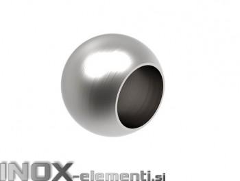 NOX Zaključna krogla 12 slepa / satinirana