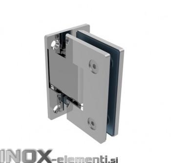 INOX tečaj za steklo AISI304, T8-10mm poliran