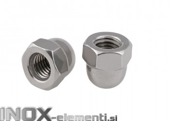 INOX Matica M8 okrasna DIN1587 / A2 100 kos