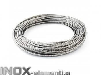 INOX vrv 5,0mmx12m AISI316