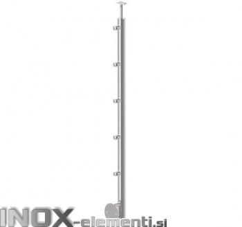 Inox Steber D12/1000-D42 satiniran, bočni, 42,4 BR 1000mm