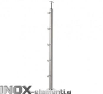 INOX Steber D12/1000-D42 statiniran, 42,4 VS 1100mm AISI304