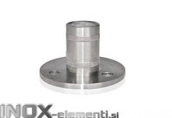 INOX Osnovna plošča za steber 42.4 / satiniran