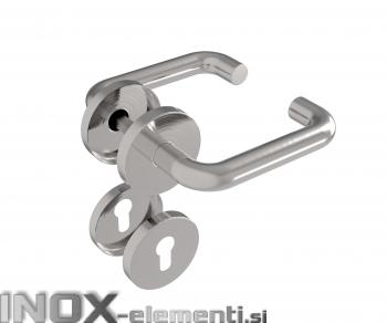 Inox kljuka D8/01-i AISI304
