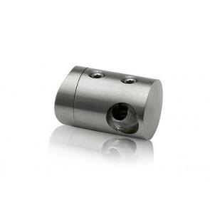 INOX Prečni nosilec 12 / satiniran za cev 42,4