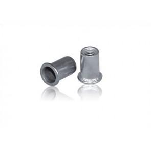 INOX slepa matica M5 RF A2 narebričana 0,5-3,0mm 100kos