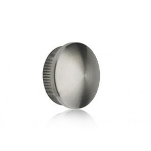INOX Zaključni čep 42.4 izbočen / poliran