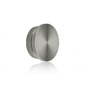 INOX Zaključni čep 33.7 raven / satiniran