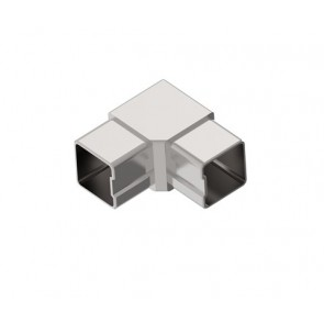 INOX Koleno kotno 40x40x2 90° satinirano AISI304