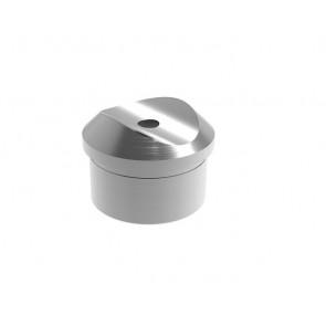INOX Cevni nosilni čep 42.4 / satiniran