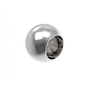INOX Zaključna krogla 16x25 slepa / polirana