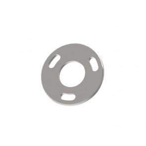 INOX Osnovna plošča 42.4 / natur 3-luknje 11x25 AISI304