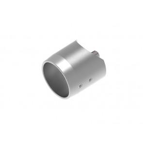 INOX axialni nosilec 33,7 / satiniran za cev 42,4 AISI304