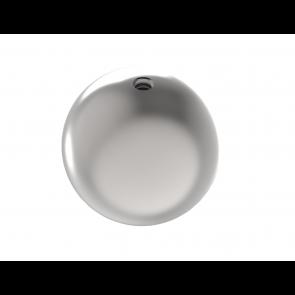 INOX okrasna krogla fi60 M8 votla satinirana AISI304