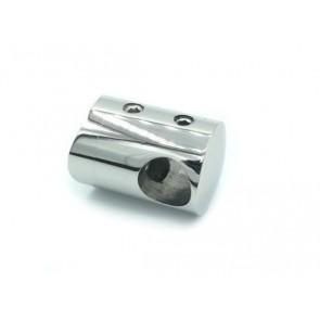 INOX Prečni nosilec 16 / poliran za cev 42,4